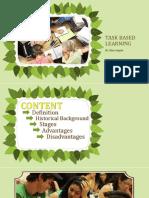 Task Based Learning - Met