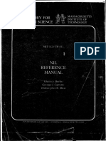 Burke Et Al-NIL Reference Manual 0286-1984