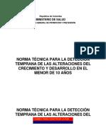 Deteccion Alteraciones Del CYD