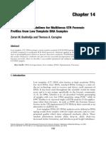 Interpretation Guidelines for Multilocus Str Forensic Profiles From Low Template Dna Samples - Zoran