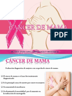 Cáncer de Mama Dr. Raul Anaya