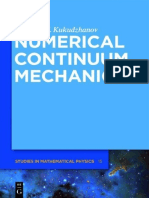 Numerical Continuum Mechanics-De Gruyter (2012)