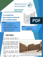 Grupo 3 Albañileria Conf Tr1 Tc II 2015.