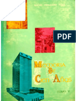 FERNÁNDEZ HERES, Rafael. Memoria de 100 Años. Introductorio. I
