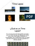 Clase 3 - Time Lapse