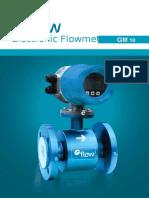 Gflow Brosur your prodak Flowmeter Elektromagnetic