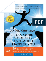 Entire Book 30 Day Challenge to a More Productive and Much Happier You