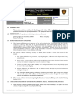 SAPD General Manual Procedure