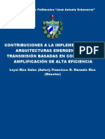 Contribuciones a La Implementación de Arquitecturas Emergentes
