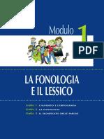 1 Fonologia e Lessico