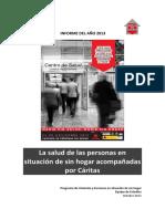 31495 Caritas Salud Sin Hogar 2013