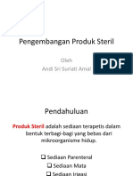 TekFar III Pengembangan Produk Steril