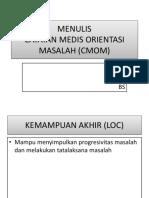 MENULIS CMOM