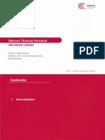 1.- NORMAS TECNICAS PERUANAS EN EL SECTOR LACTEO - Fanny Ludeña.ppt