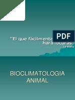 BIOCLIMATOLOGIA