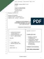 Complaint, LegalForce v. Alin Cheie, TrademarkPlus.com, Sharp Filings, Inc.