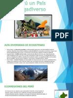 Perú Un País Megadiverso