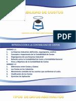 01.CONTABILIDAD de COSTOS - La Empresa Industrial, Definición, Organigrama, Análisis