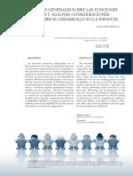 Apreciaciones Generales de F.E. Sobre Su Desarrollo en La Infancia