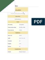 Ácido palmítico