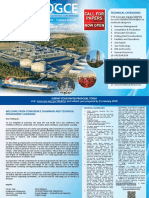 Apogce 2018 Call for Paper Postcard