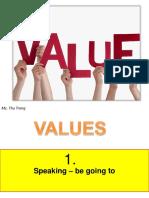 Values 1 & 2