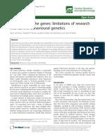 Behavioural Genetics-limits Article 7