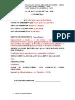 Ficha de Análise de Autos