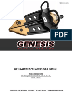 Genesis Rescue 2016 Spreaders User Guide