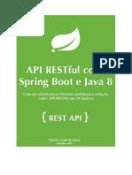 API Restful Spring Boot Java 8 MongoDB Heroku