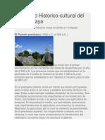 Desarrollo Historico de Los Mayas