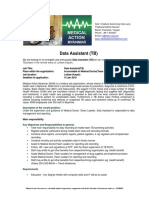 Data Assistant TB
