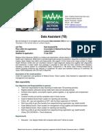 Data Assistant TB