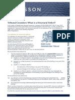 Tribunal-Defines-a-Structural-Defect-1.pdf