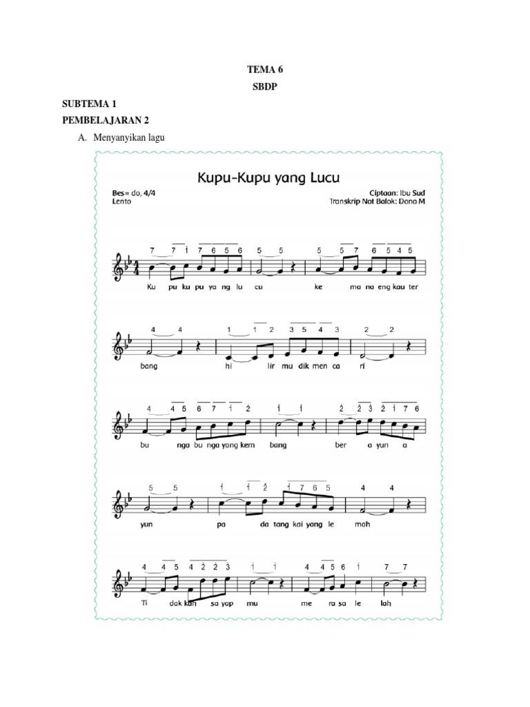 Tempo Lagu Menanam Jagung Download File Guru