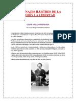 Personajes Ilustres de La Región La Libertad
