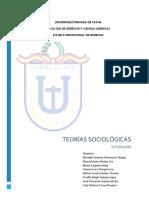 TEORIAS SOCIOLOGICAS REVISADO