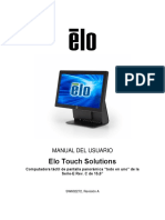 MANUAL DEL USUARIO - Elo Touch Solutions