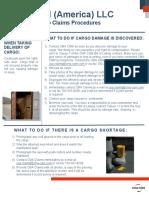 Customer Cargo Claims Procedures 2017