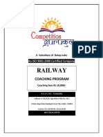 Best Railway Coaching in  Janakpuri Delhi NCR