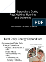 Energy Expenditure During Walking Jogging