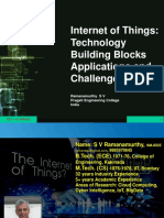 IoT - Building Blocks, Applications and Challenges