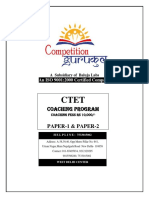 Best Ctet Coaching in  Janakpuri Delhi NCR