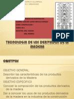 Tecnologia de Los Derivados de La Madera