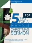 5 Tips for a Fresh Christmas Sermon