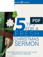 5 Tips for a Fresh Christmas Sermon