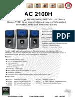 ViRDI AC 2100H Brochure