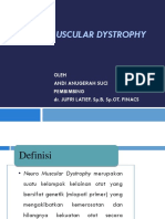Neuro Muscular Dystrophy Ppt