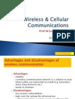 Dr.M.Sushanth Babu-Advance Wireless & Cellular Communications