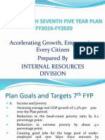 Bangladesh Seventh Five Year Plan -Final